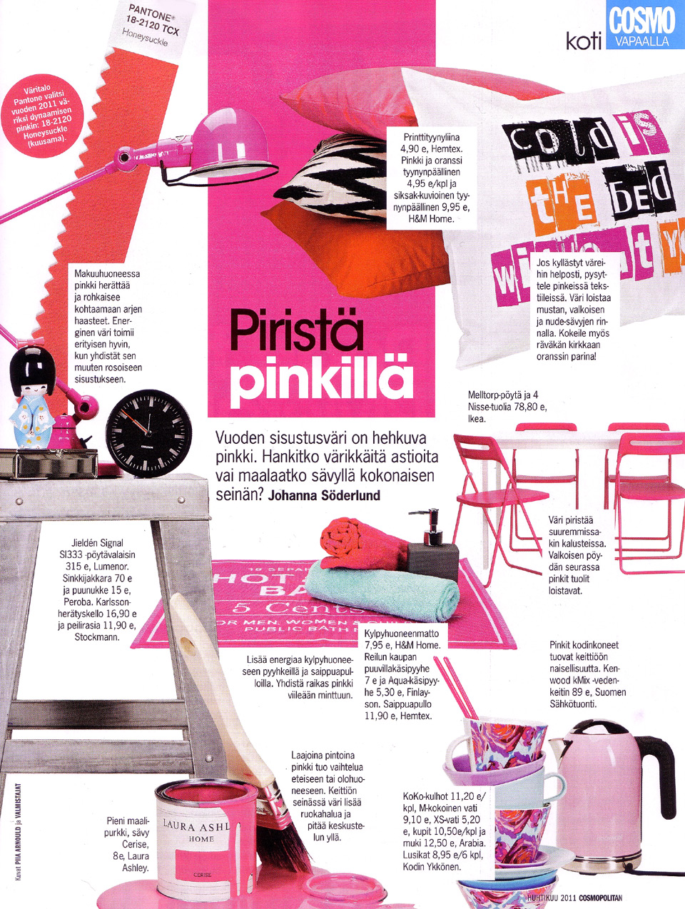 Cosmopolitan huhtikuu 2011